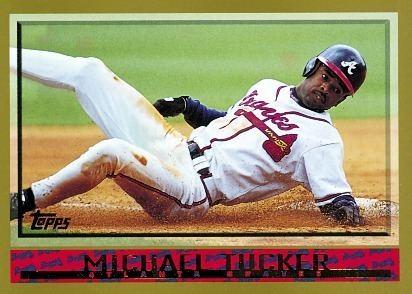Michael Tucker (baseball) Baseball Card Database Michael Tucker 1998