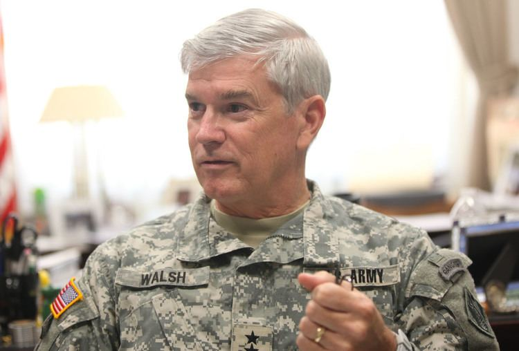 Michael Walsh (engineer) Maj Gen Michael Walsh retires has two messages for USACE