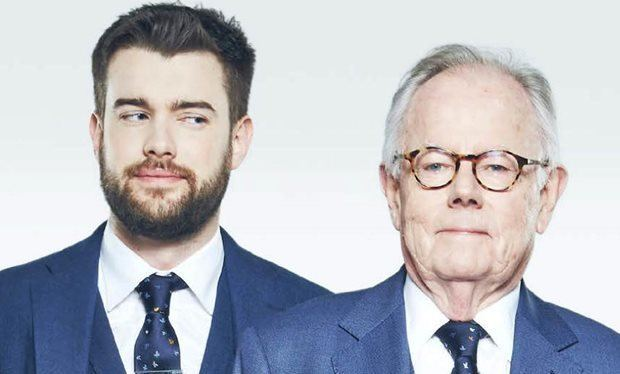 Michael Whitehall Backchat39s Jack Whitehall and his dad Michael Whitehall on