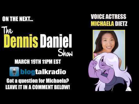 Michaela Dietz Michaela Dietz on the next Dennis Daniel Show March 19th