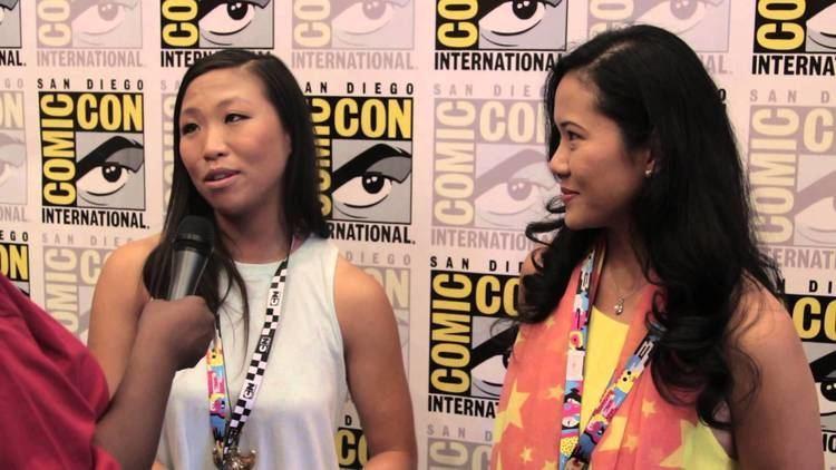 Michaela Dietz Geeking Out SDCC Steven Universe Interview wDeedee Magno