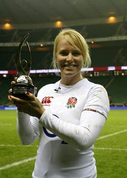 Michaela Staniford Unofficial England Rugby Union Staniford named IRB Womens Player