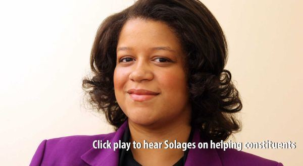 Michaelle C. Solages Editorial Reelect Michaelle C Solages in the 22nd Assembly