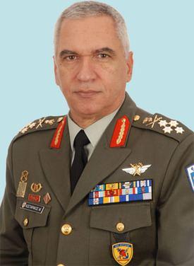 Michail Kostarakos NATO Biography General Mikhail Kostarakos Chief of the Hellenic