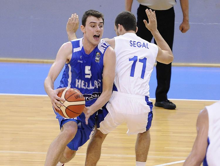 Michail Liapis Michail Liapis U20 European Championship Men 2014 FIBA Europe