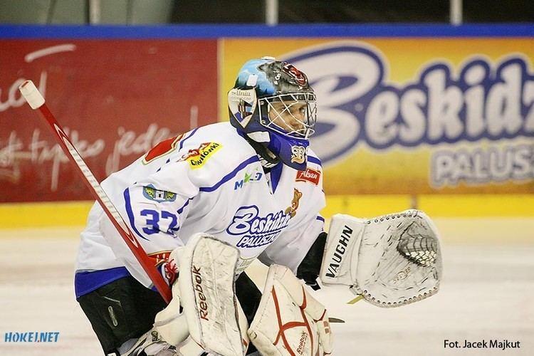 Michal Fikrt Hokejnet Michal Fikrt w barwach Aksam Unii Owicim