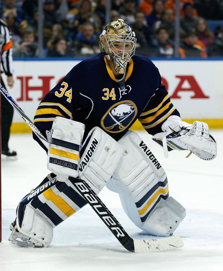Michal Neuvirth Thoughts from SabreLand SabreLand isn39t a place it39s a