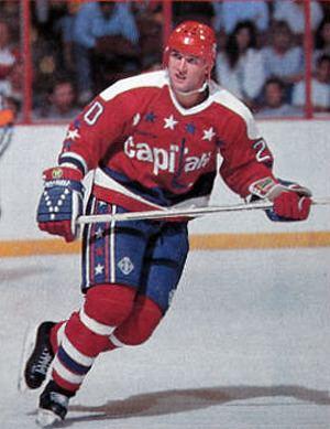 Michal Pivoňka Third String Goalie 199293 Washington Capitals Michal Pivoka Jersey