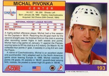 Michal Pivoňka Michal Pivonka Gallery The Trading Card Database