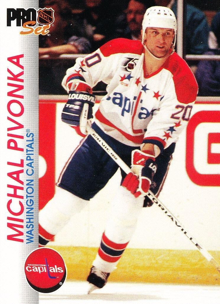 Michal Pivoňka Hokejov karty Pro Set 199293 Michal Pivoka 201 Eshop