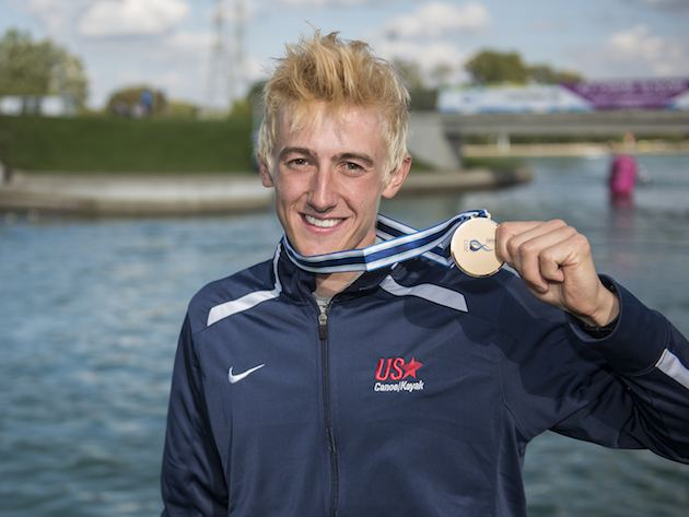 Michal Smolen American Michal Smolen Claims K1 Slalom Worlds Bronze Canoe