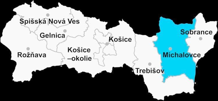 Michalovce District
