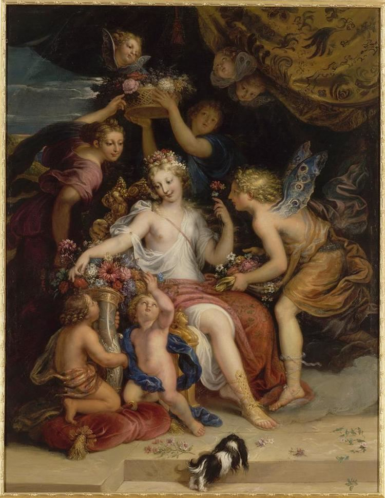 Michel Corneille the Younger Michel Corneille the Younger Zephyr and Flora 1689 Ancient Winds