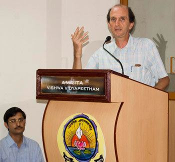 Michel Danino Michel Danino Speaks at Amritapuri Campus Amrita Vishwa
