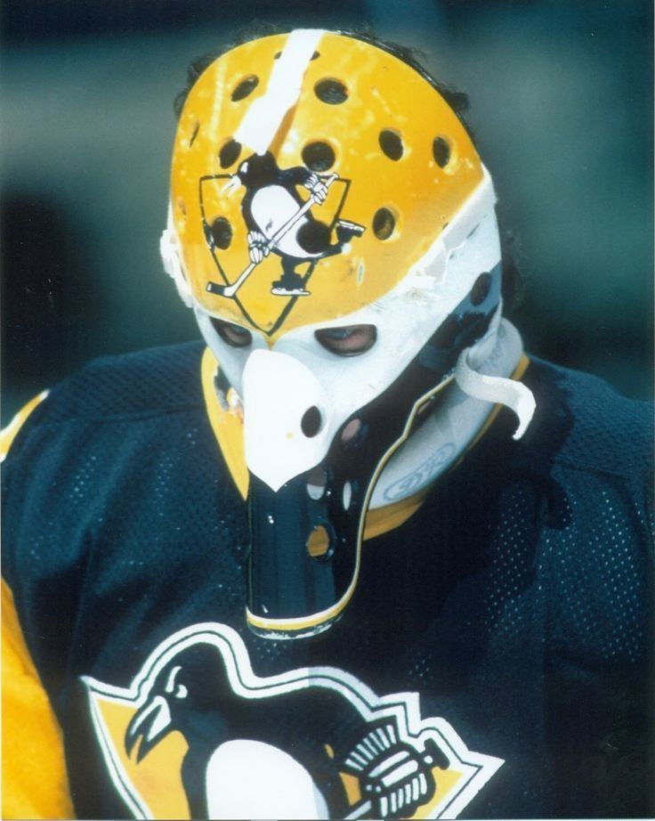 Michel Dion MICHEL DION Bird BEEK MASK 8x10 Photo PITTSBURGH PENGUINS