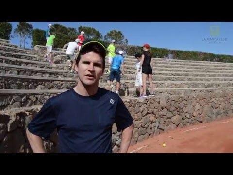 Michel Kratochvil Former No35 ATP player Michel Kratochvil tennis camp at La Manga