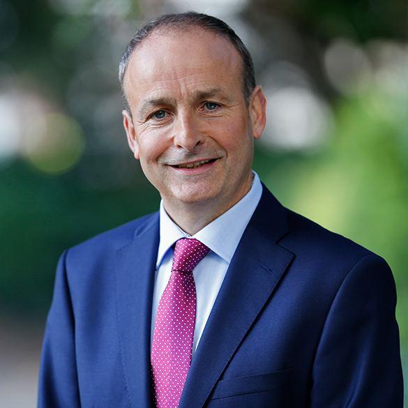 Micheál Martin Michel Martin TD Fianna Fil
