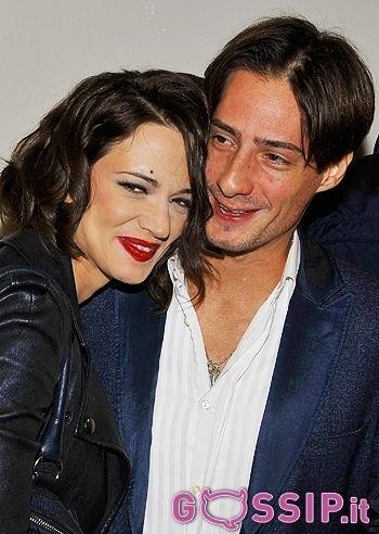 Michele Civetta Asia Argento e Michele Civetta Foto e Gossip