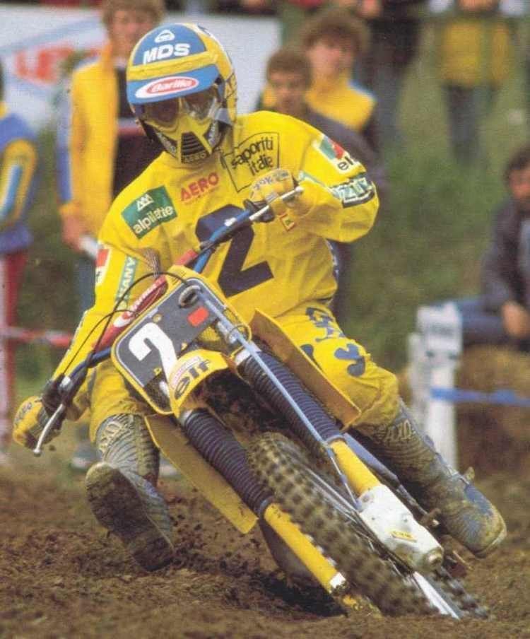 Michele Rinaldi (motorcyclist) Michele Rinaldi World Champion 125cc 1984 Mx OLD without