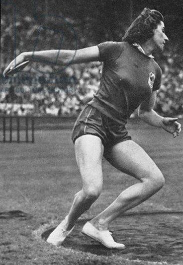 Micheline Ostermeyer Micheline Ostermeyer Female Olympic Champions