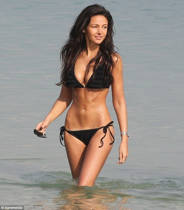 Michelle Keegan Michelle Keegan and Mark Wright put on amorous display in