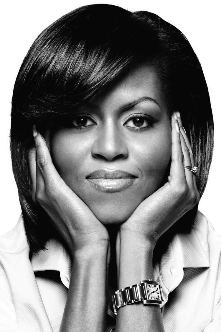 Michelle Obama A Portrait of First Lady of the United States Michelle Obama Los