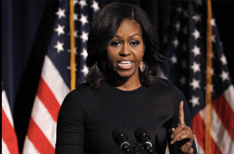 Michelle Obama FrontPageAfrica Newspaper Welcoming US First Lady Michelle Obama