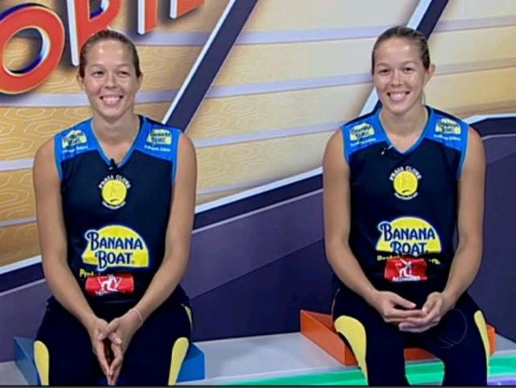 Michelle Pavão Conhea as gmeas do volei feminino Monique e Michelle Pavo