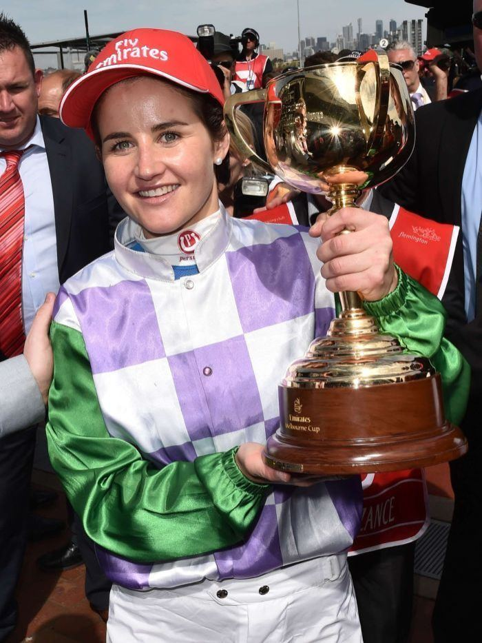 Michelle Payne Melbourne Cup Michelle Payne rises from nasty falls to