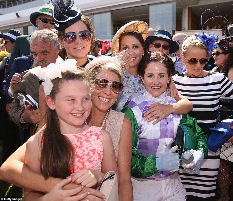 Michelle Payne Michelle Payne is first woman to win the Melbourne Cup