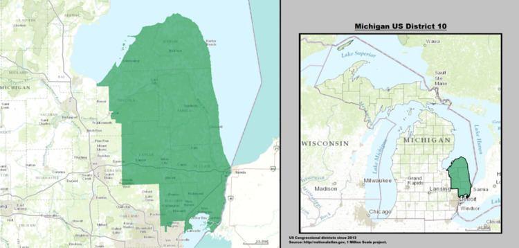 Michigan's 10th congressional district