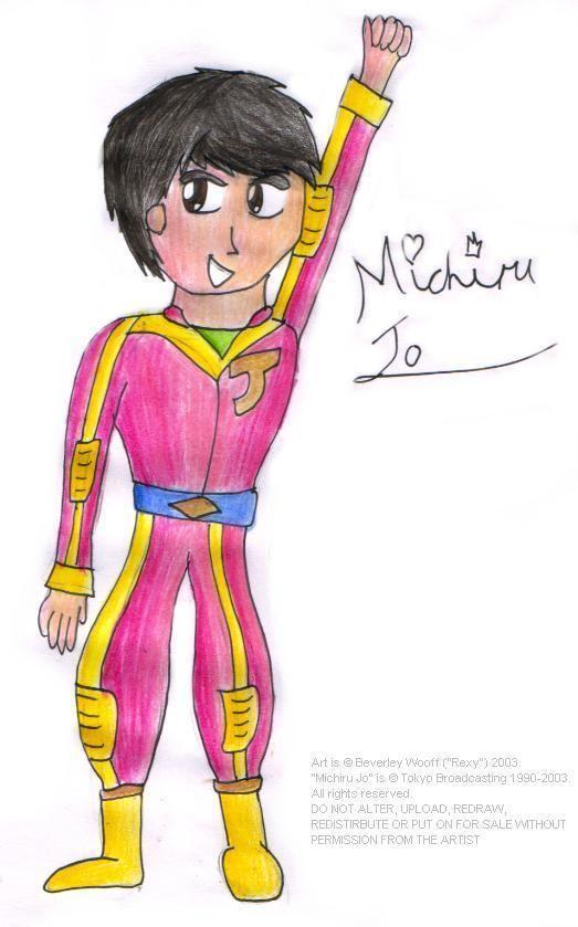 Michiru Jo Michiru Jo sketch by rexrock69 on DeviantArt