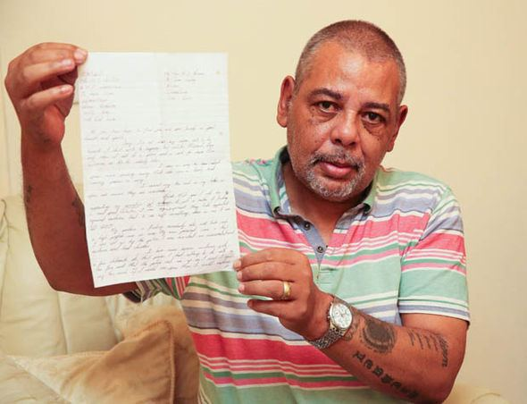 Mick Philpott Child killer Mick Philpott writes from jail moaning his FISHING RODS