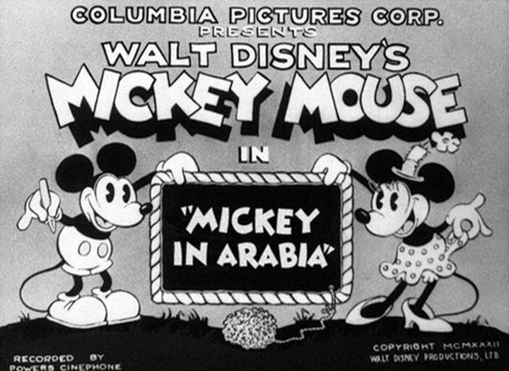 Mickey in Arabia Mickey in Arabia 1932 The Internet Animation Database