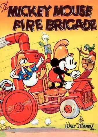 Mickey's Fire Brigade Mickeys Fire Brigade 1935