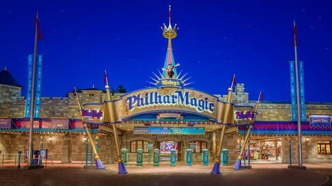 Mickey's PhilharMagic Mickey39s PhilharMagic Concert Walt Disney World Resort