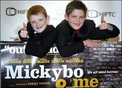 Mickybo and Me BBC NEWS In Pictures Mickybo and Me premiere