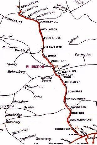 Midland and South Western Junction Railway wwwswindoncrickladerailwayorgroutejpg