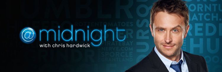 @midnight midnight with Chris Hardwick Comedy Central Press