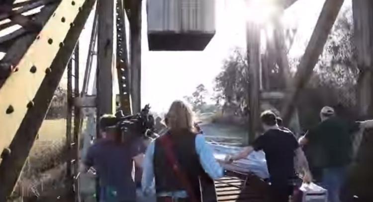Midnight Rider (film) WATCH Midnight Rider crew flees tracks before train crash NY