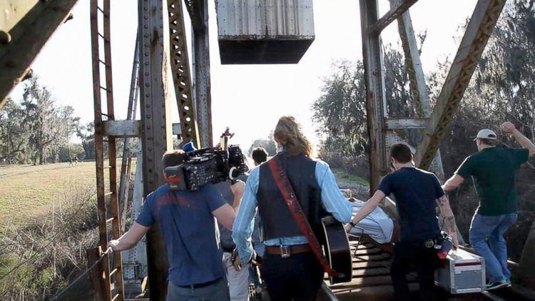 Midnight Rider (film) Shocking New Midnight Rider Video Shows Train Impact ABC News