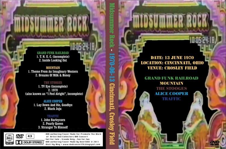 Midsummer Rock DVD Concert Midsummer Rock Festival 19700613 Cincinnati