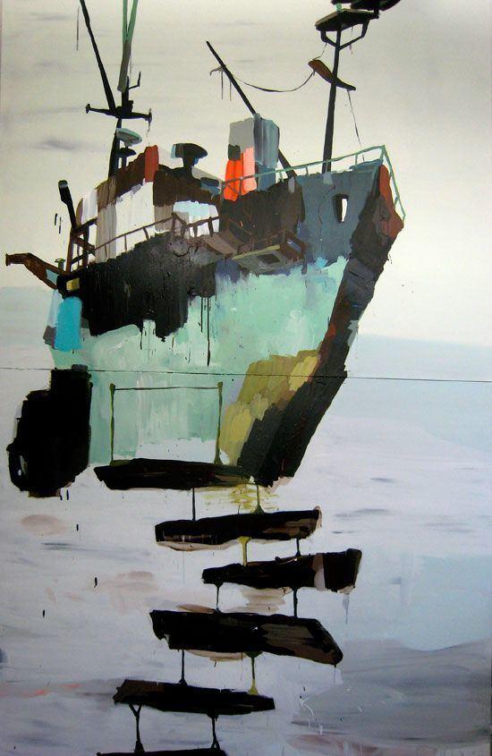 Mie Olise Colorful paintings by the danish artist Mie Olise Artwork