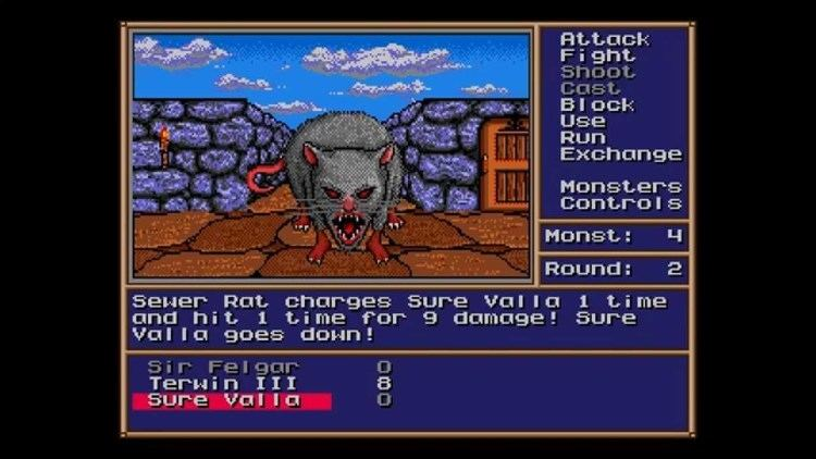 Might and Magic II: Gates to Another World Might and Magic II Gates to Another World Sega Genesis YouTube