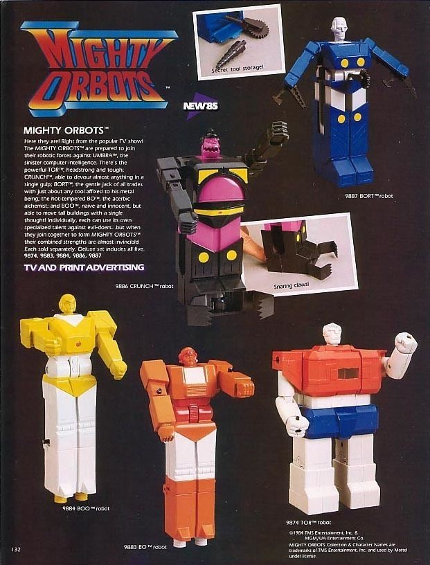 Mighty Orbots About the Mighty Orbots Page
