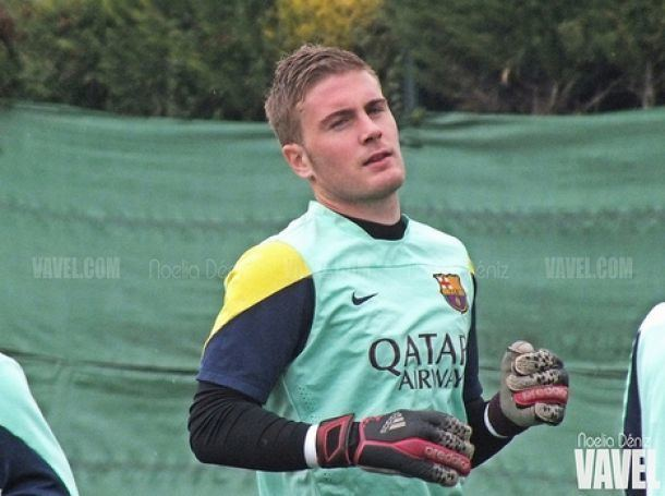 Miguel Bañuz FC Barcelona B 201314 Miguel Bauz VAVELcom