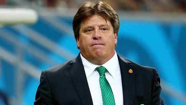 Miguel Herrera Miguel Herrera strongly criticises the officiating in