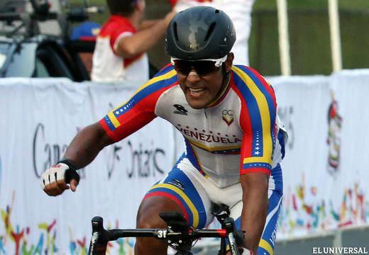 Miguel Ubeto Miguel Ubeto se colg el oro en ciclismo de ruta Deportes
