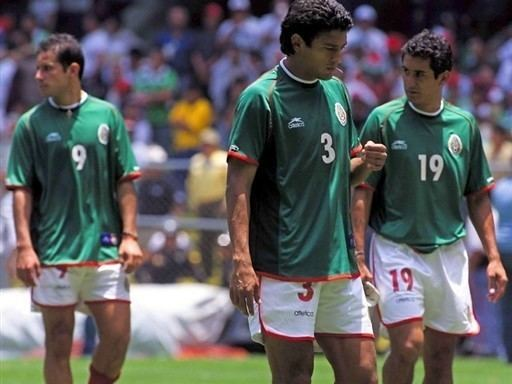 Miguel Zepeda The players of the Mexican soccer team Jose Abundis L