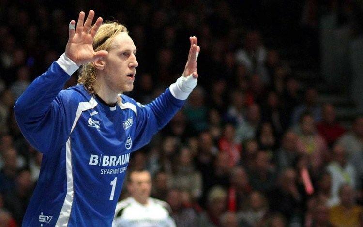 Mikael Appelgren (handballer) MT Melsungen schlgt THW Kiel Interview mit Mikael Appelgren YouTube